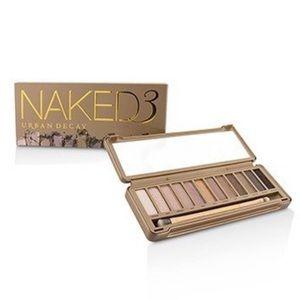 naked 3 palette EUC